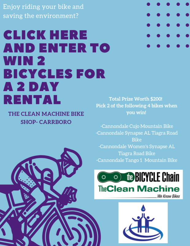 Enter to win a 2 day bicycle rental (1)